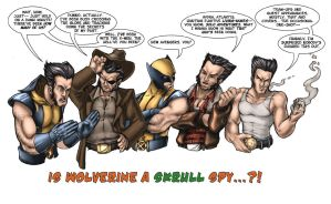 Wolverine...a Skrull by ComfortLove