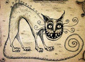 Cheshire cat by Lady-Twiggy
