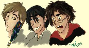 Marauders sketch by aspookah