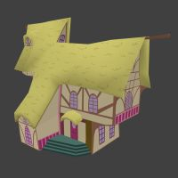 Ponyville house by omg1024