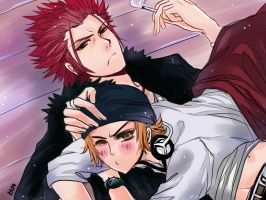 K: Yata and the King by hisaru