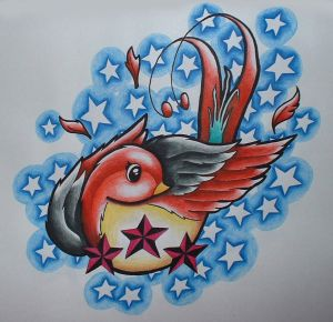 Swallow Tattoo Designs 4
