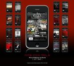 NIN iPhone Wallpapers set 1 by montia