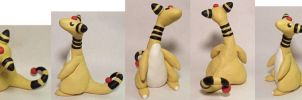 Ampharos Collage by Tinebell