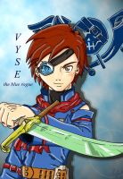Vyse, the Blue Rogue by BlueRogueVyse
