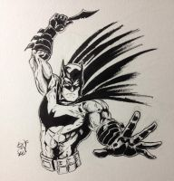 Batman inks by shaotemp