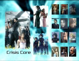 Crisis Core Wallpaper by DragonRiderofRohan