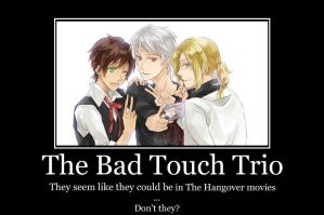 The Hangover With The Bad Touch Trio by SOUL-Catchers