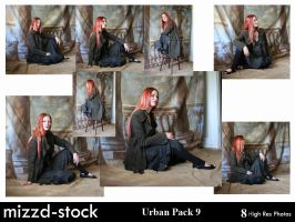 Urban Pack 9 by mizzd-stock