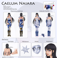 Naia Reference Sheet by ladamadelasestrellas