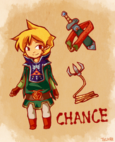 Legend of Zelda OC: Chance by tellie-tale