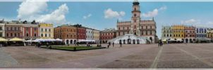 panorama of zamosc by pavlickk