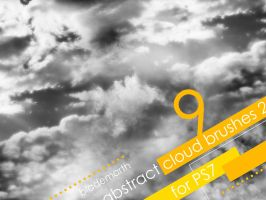 Abstract Cloud Brushes 2 by BladeMarth