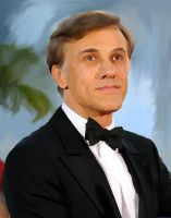 Christoph Waltz Digital Portrait by Opusqe