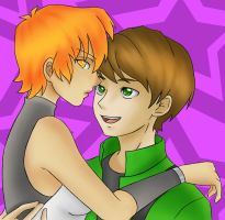Amber and Emerald by ViridianSoul