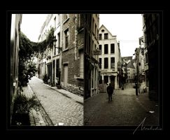Streets of Bruxelles by Old-Melody