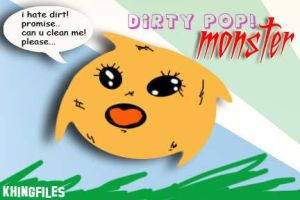 DIRTY POP CUTE LITTLE MONSTER by KHINGFILES by khingfiles