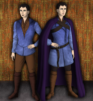 Merlin: where he's come to by SingerofIceandFire