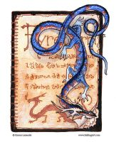 Tiny Fyrewyrm Page by emla