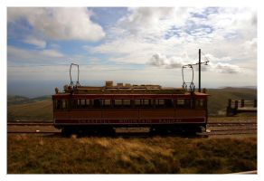 Snaefell mountain railway by Gilly71