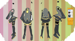 MMD Outfit 129 by MMD3DCGParts