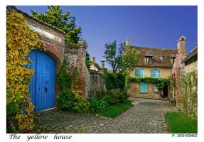 yellow house by bracketting94
