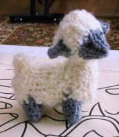 Loom Knitted Mini Sheep by ScarlettRoyale
