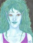 Blue Green Faerie by CATtheMinion