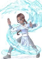 Water and Fire -Katara by L2A