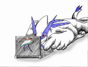 Spend too much time on CPU XD by XynaTheZoroark
