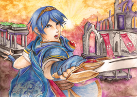 Marth by X-Tidus-kisses
