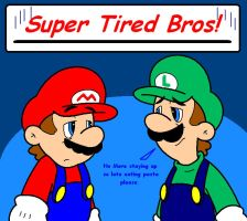 Super Tired Bros by supermariobroDX