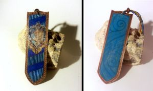 Ravenclaw bookmark by viperxmns