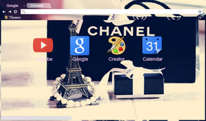 Chanel Deluxe GOOGLE THEME by ariii23