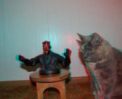 3D Maul a kitty by Irishmile