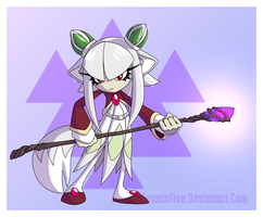 Nova The White Lotus Fox by CosmicFlow