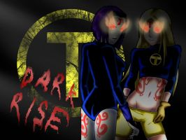 Raven and Terra :Dark Rise: by TharenStorm