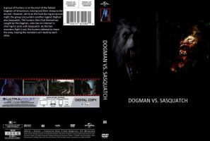 Dogman vs. Sasquatch DVD cover by SteveIrwinFan96