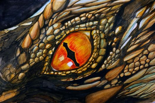 Eye of Smaug by JonasEklundh