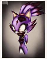 Blaze the Cat Zombie by GodzillaJAPAN