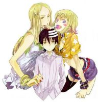 Liz, Patty and Kid - Soul Eater by Kids-Birthday