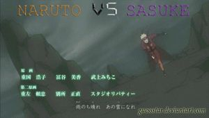 Naruto VS Sasuke by GuessStar