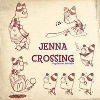 Jenna Crossing Doodles by Crimson-Jazz