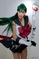 Sailor PLuto cosplay by Yunnale