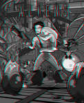 Super Aliens 3D! by inkjava