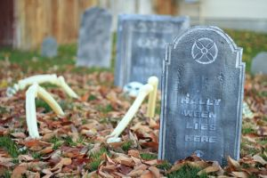 Hally Ween lies here by VileYonderboy
