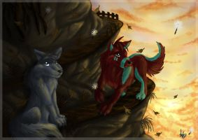 Through the top by SlokGreatwolf