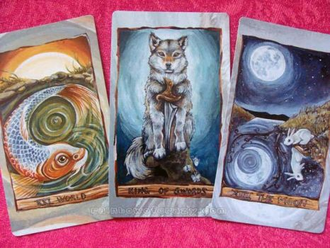 The Animism Tarot - Preview by sobeyondthis