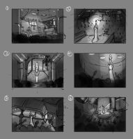 Art test scene comps by Hazzard65