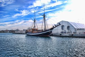 barco pirata by darkart84-stock